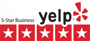 Yelp business trust badge