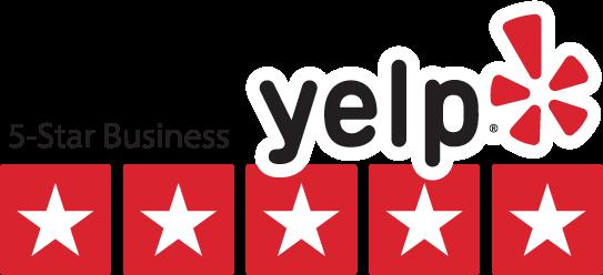 Yelp business trust badge