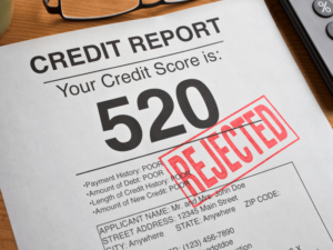 Foreclosure hurts your credit score