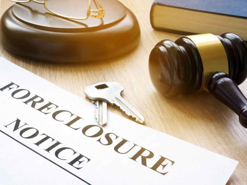 Foreclosure coming soon