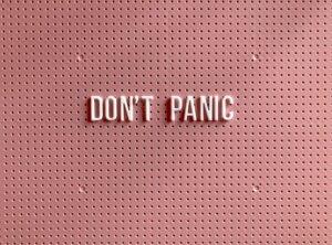 don't panic foreclosure notice of default Arizona