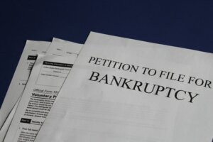 mortgage problems file bankruptcy