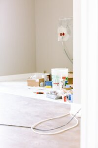 improve mobile home by fresh paint