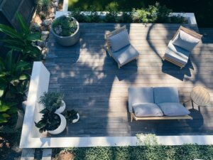 backyard comfy spot to attract home buyers