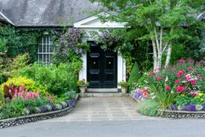 house garden to improve curb appeal