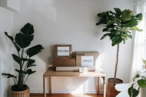 clear out things when selling home