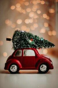 christmas tree holiday open house ideas