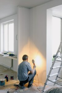 house repair cost with real estate agent