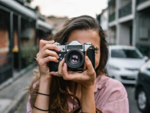 Photography and home staging before selling