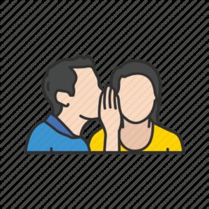 real estate agent gossips