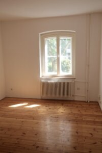 empty room means you need to downsize your house