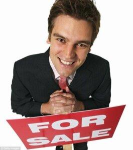 listing through an agent