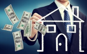 Collect deposit from probate property buyer