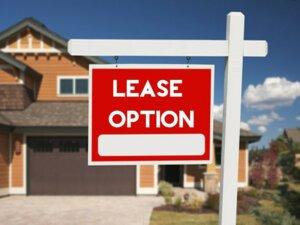 lease option rent town Tucson AZ