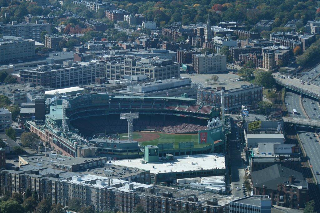 NextHome Titletown Real Estate Boston MA Fenway Park overhead