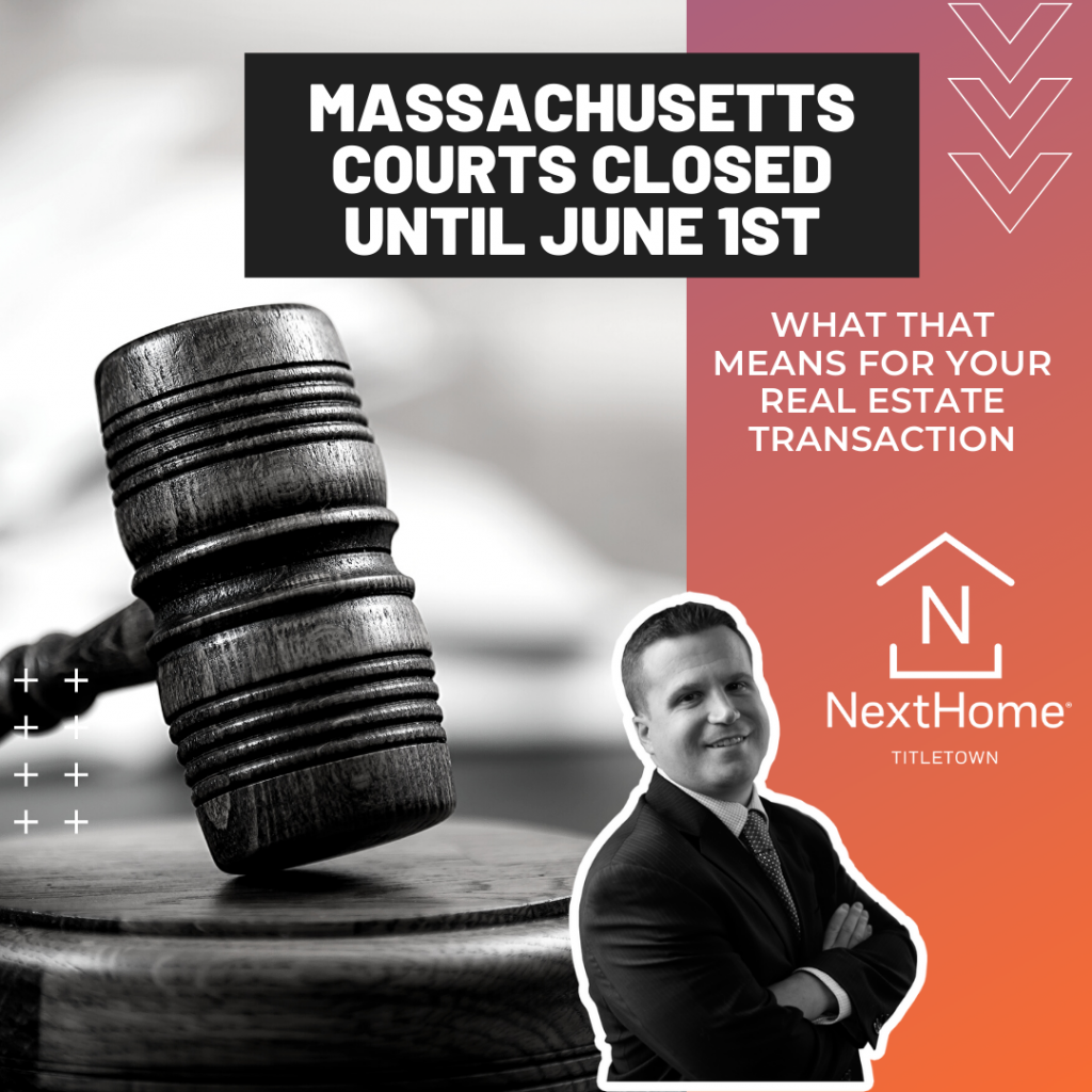 NextHome Titletown Real Estate Boston MA Courts Closed