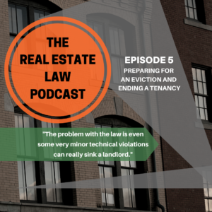 Real Estate Law Podcast Episode 5