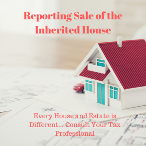 Inherited taxes on selling home