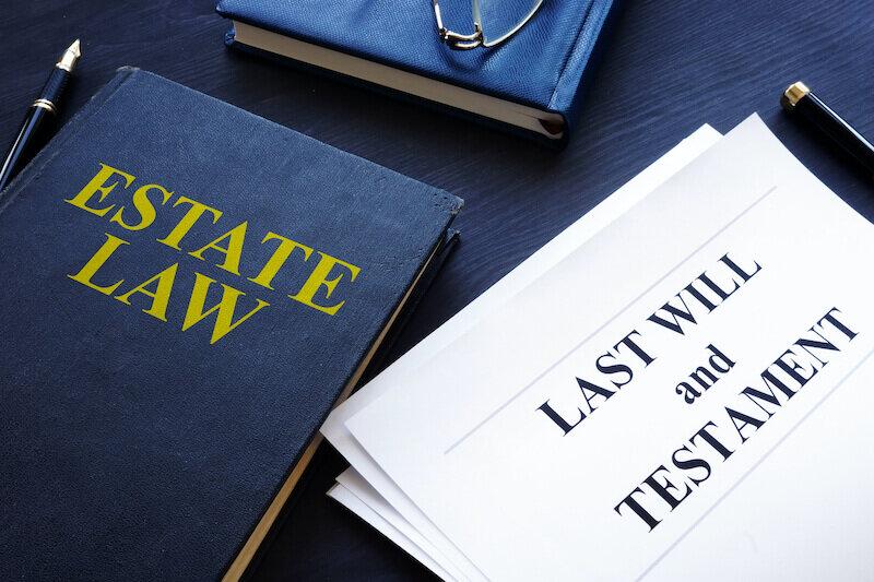 Estate law, last will and testament