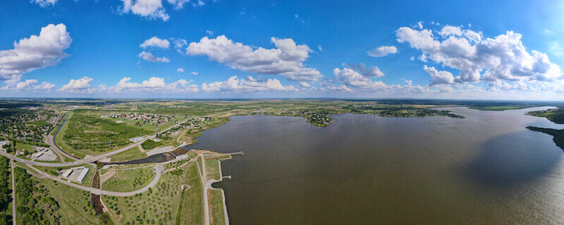 Lake Wichita in Wichita Falls Texas