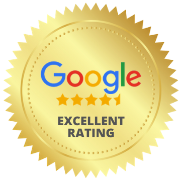 excellent Google rating