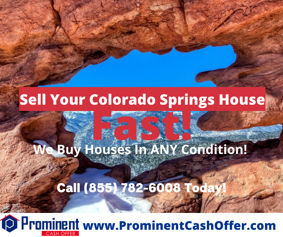 We Buy Houses Colorado Springs Colorado - Sell My House Fast Colorado Springs Colorado
