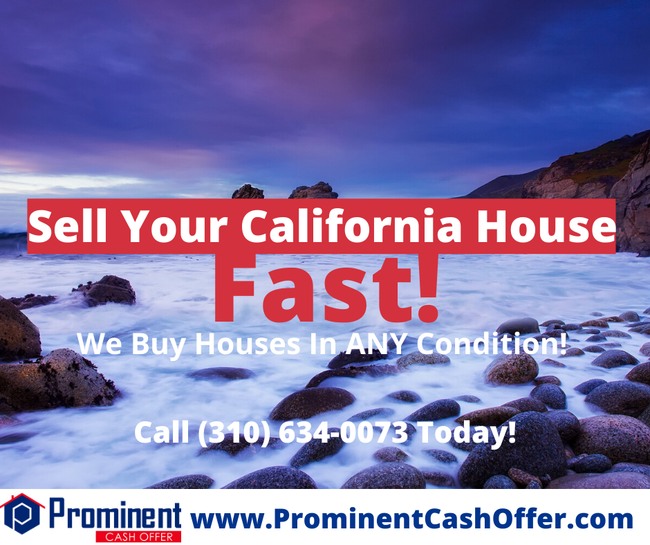 We Buy Houses California - Sell My house Fast California