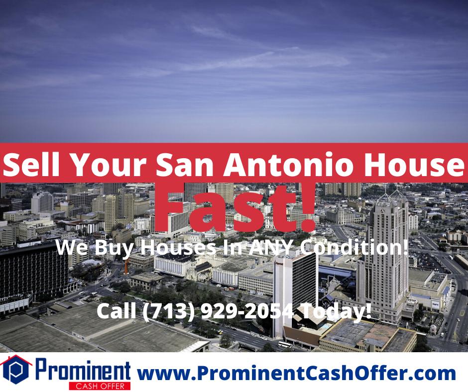 We Buy Houses San Antonio Texas - Sell My House Fast San Antonio Texas