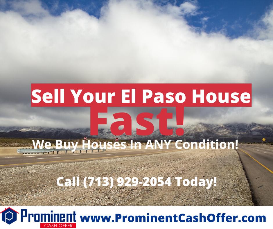 We Buy Houses El Paso Texas - Sell My House Fast El Paso Texas