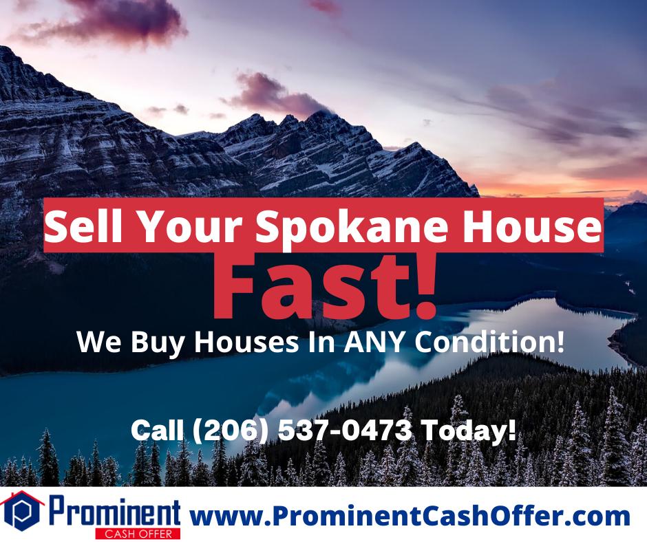 We Buy Houses Spokane Washington - Sell My House Fast Spokane Washington