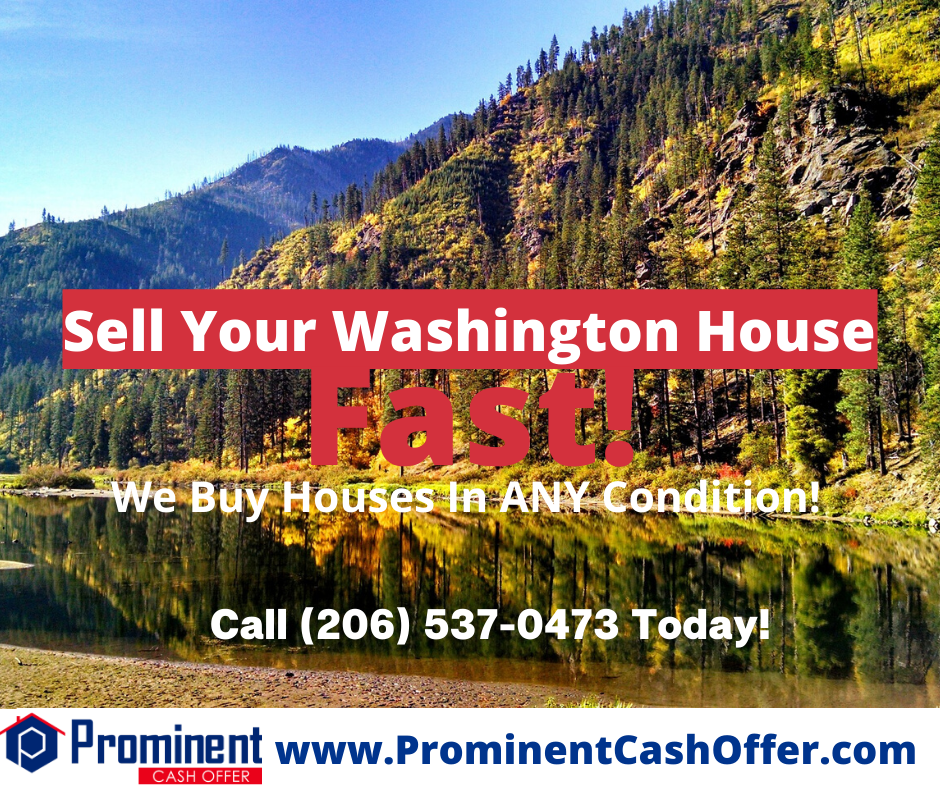 We Buy Houses Washington - Sell My House Fast Washington