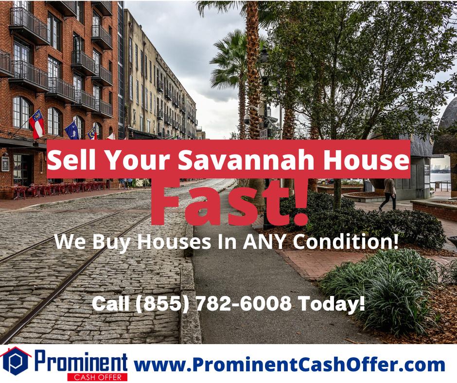 We Buy Houses Savannah Georgia - Sell My House Fast Savannah Georgia