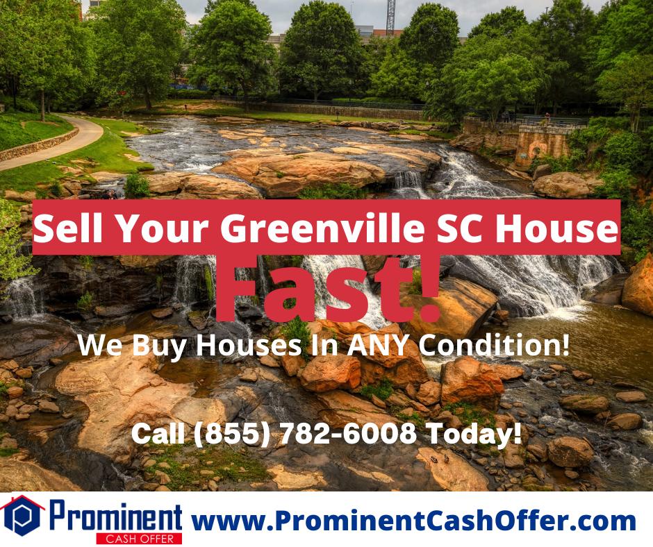 We Buy Houses Greenville South Carolina - Sell My House Fast Greenville South Carolina