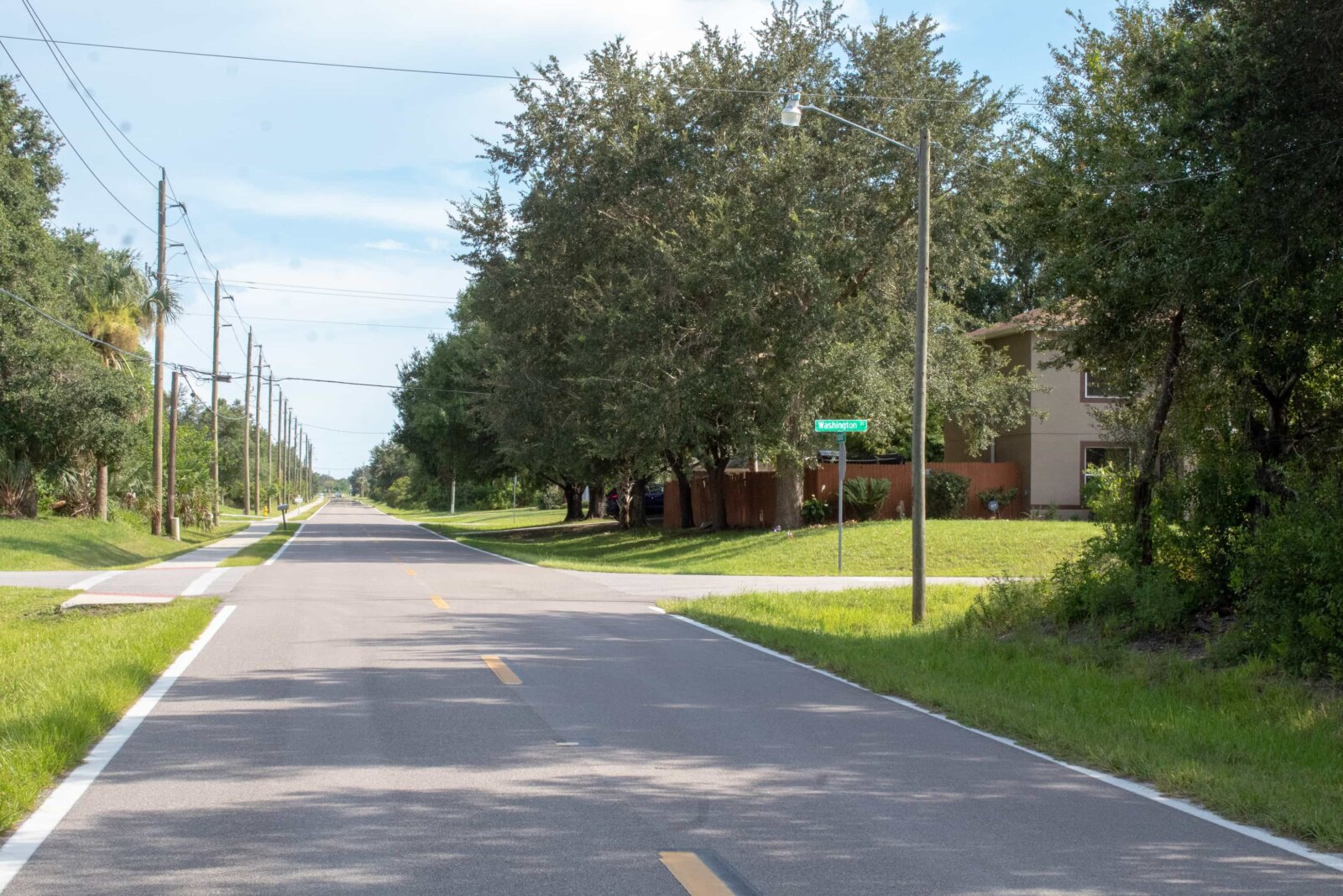 Beautiful Florida neighbourhood
