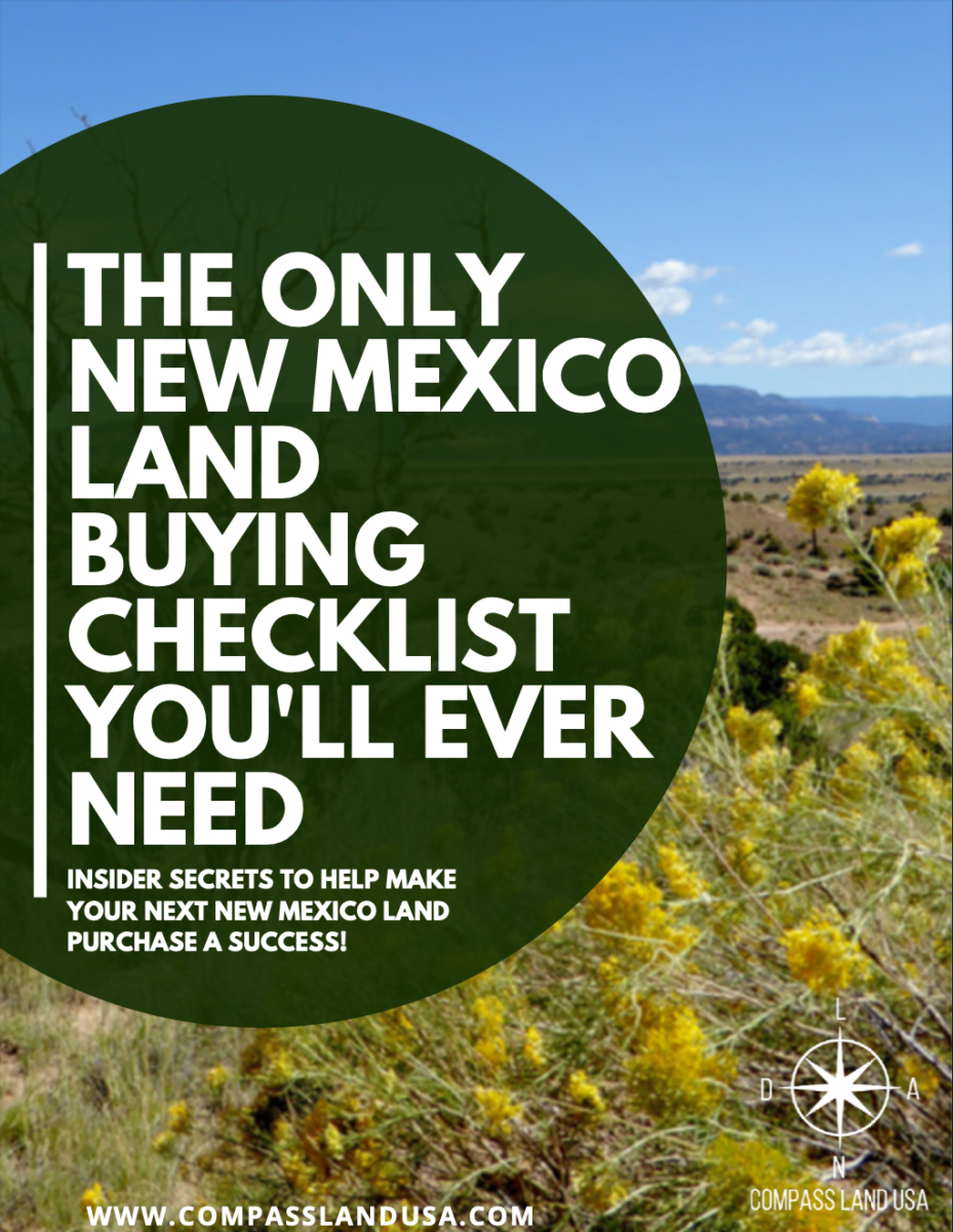 New Mexico Land Buying Checklist