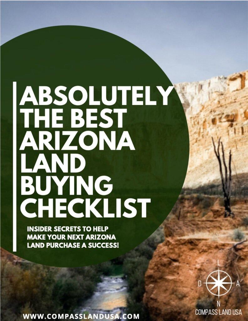 Arizona Land Buying Checklist