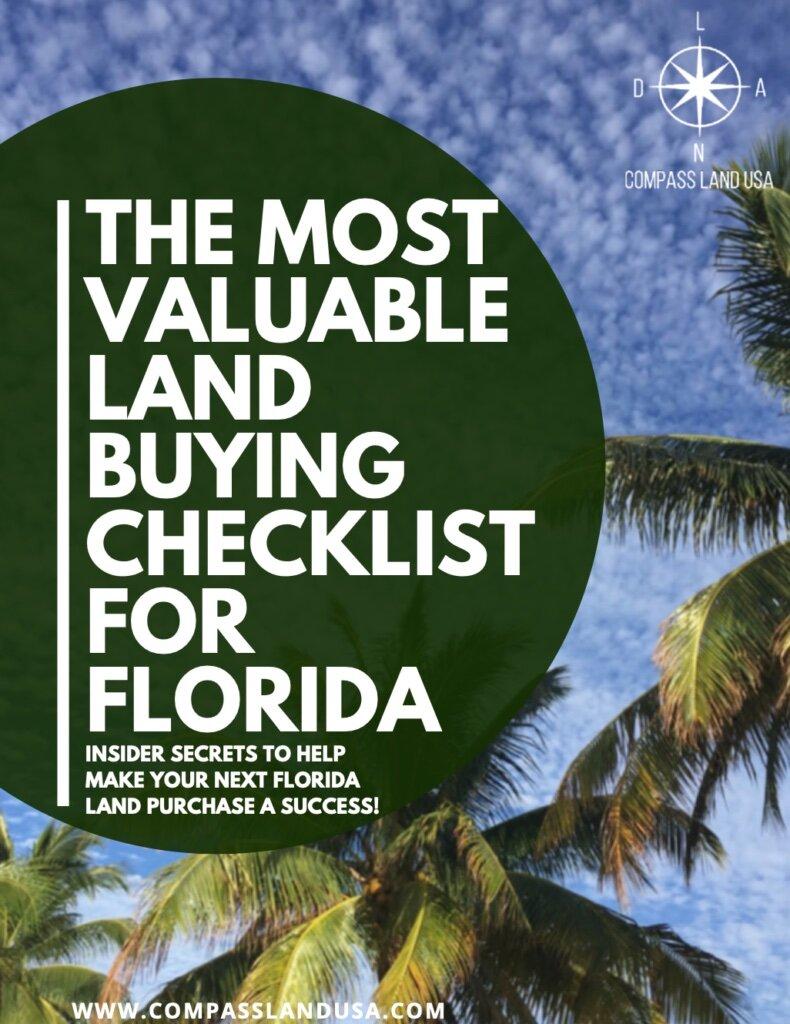 Florida Land Buying Checklist