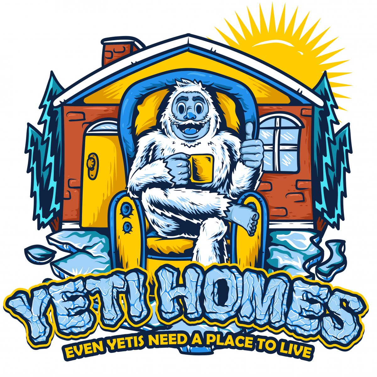 Yeti Homes – Everyone Needs a Place logo