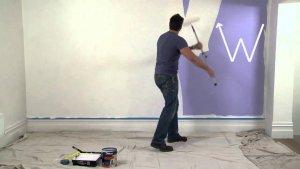 peinture dans une maison hérité, succession vendre maison rapidement