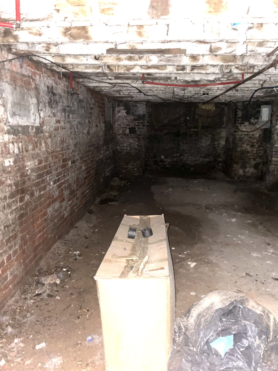 Paterson NJ Unfinished Basement