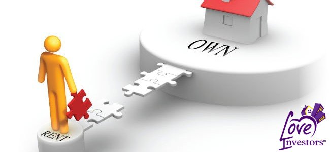 """Un buen camino para ser propietario de una vivienda puede ser """"alquiler con opción a compra"""" si tiene un crédito bajo y poco pago inicial."""
