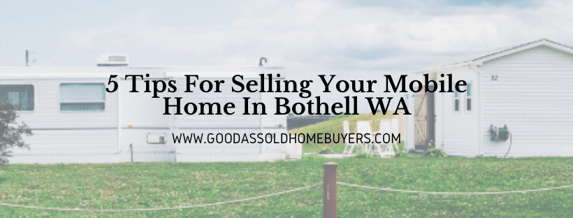 Cash for houses in Bothell WA