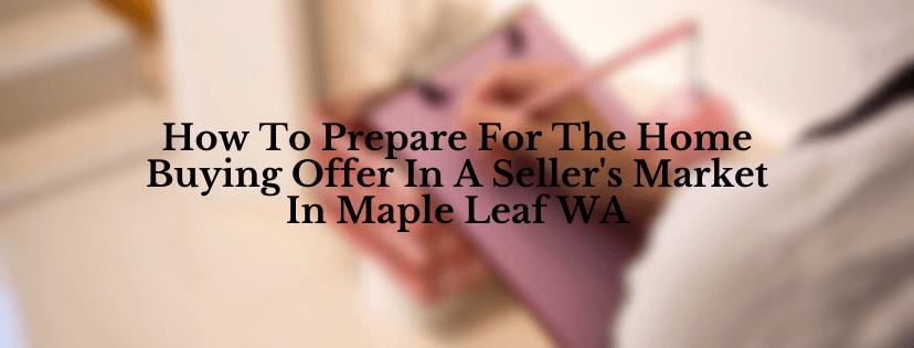 We buy house in Maple Leaf WA