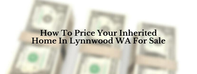 Sell my house in Lynnwood WA