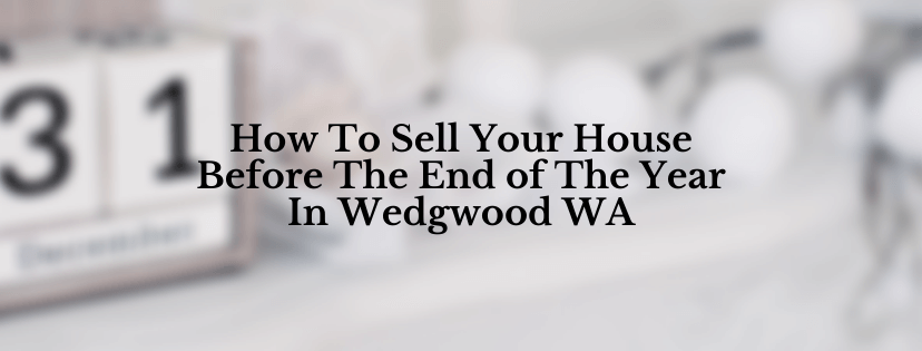 Sell my house in Wedgwood WA