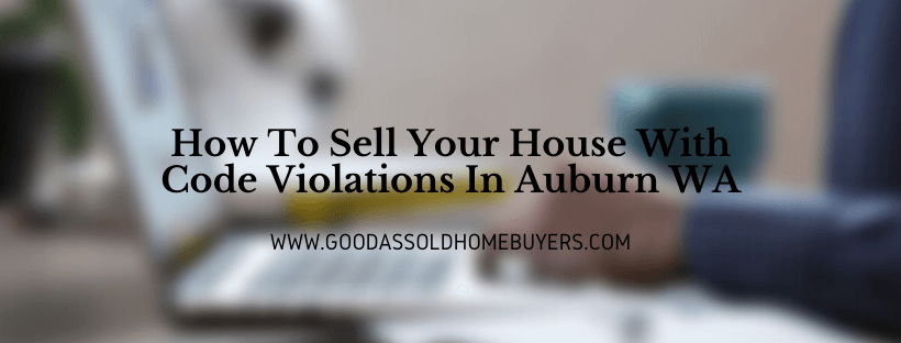 Sell Your House in Auburn WA