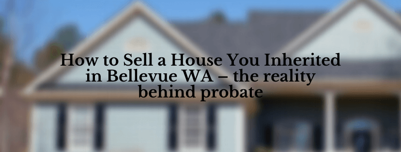Sell your house in Bellevue wa