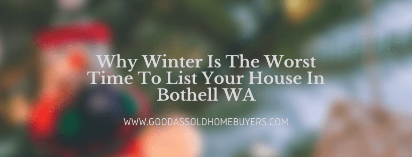 Sell your house in Bothell