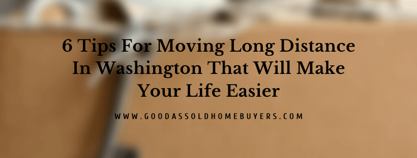 Sell my home in Washington