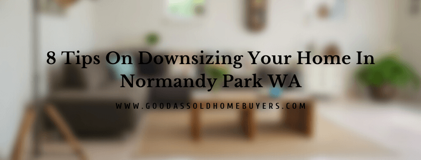 Sell your house in Normandy Park WA